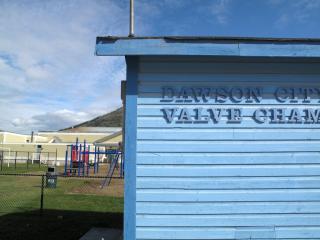 "Dawson City ""valve chamber building"""