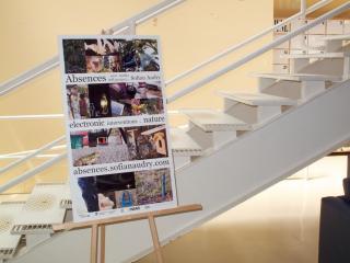 L'affiche présentée lors de l'exposition à Subtle Technologies