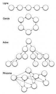 Quatre types de réseaux