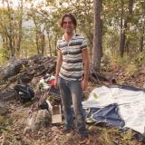 Picture of me on my campsite