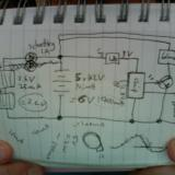 My original (bad) circuit diagram
