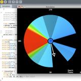 Screenshot of the simulation app
