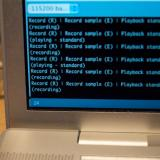 Interface pour le programme test